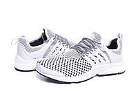 Мужские кроссовки Nike Air Presto Flyknit Weaving grey
