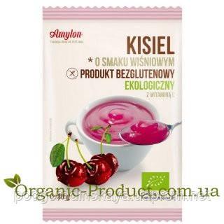 Органічний кисіль вишневий без глютену, Amylon, 30 гр