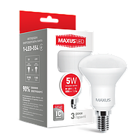 Лампа светодиодная R50 5W 4100K 220V E14 MAXUS (1-LED-554)