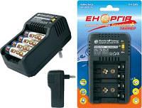 Зарядное устройство Энергия EH 505 Стандарт+Таймер, 2-4 АА, ААA, 1-2 кроны, Fast/Slow, 300mAh, фото 1