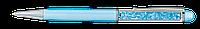 Ручка шарик с кристалами в футляре