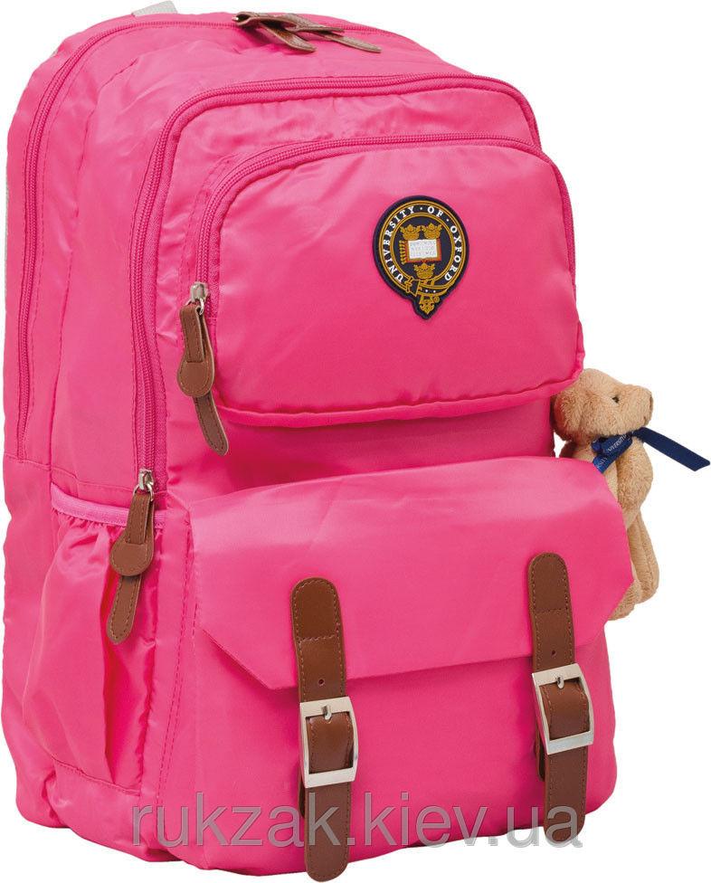 Рюкзак подростковый Оксфорд (Oxford) розовый Х163