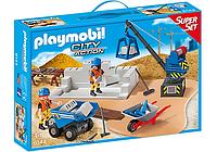 Конструктор Playmobil  6144 Стройплощадка, фото 1