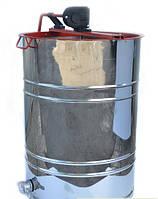"Медогонка с поворотом кассет 4-х рамочная под ""Рутовскую"" рамку,алюмоцинковая"
