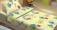 Постельное белье для подростков Lotus Young - Donald Duck желтое подростковое