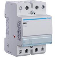 Контактор стандарт Hager ESD440-40A, 4НВ, 24В, 3м