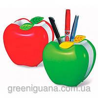 Стакан настольный красный Яблоко Apple ОЛ-9139