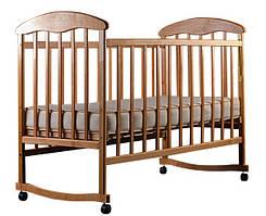 Кроватка детская Наталка ольха светлая