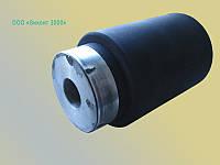 Восстановление резинового покрытия ролика ø75хø21х125 мм методом прямого прессования