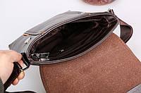 Мужская кожаная сумка. Модель 04269, фото 8