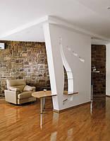 Подвесная стена из гипсокартона