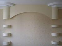 Выравнивание стены ванной гипсокартоном