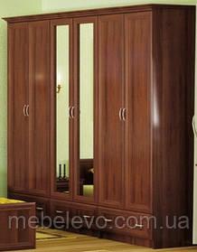 Шкаф Соната 6Д 2100х2400х520мм    Мебель-Сервис