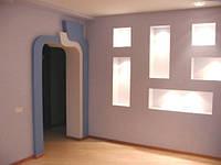 Выравнивание стен и потолка гипсокартоном