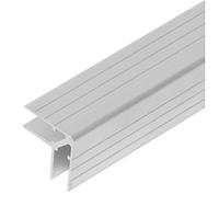 Профиль Е2255. Двойной уголок алюминиевый . Кейсмейкер для панелей 11мм. 35мм х 35мм с толщиной стенки 1,5 мм.
