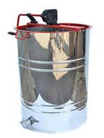 Медогонка с поворотом кассет 2-х рамочная,Нержавеющая РКС (детали ротора, кассета сварная-нерж.)