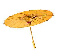 Зонт шелковый с рисунком   39см