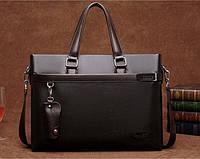 Мужская кожаная сумка-портфель. Модель 04270, фото 3