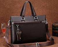 Мужская кожаная сумка-портфель. Модель 04270, фото 4