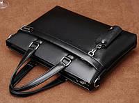 Мужская кожаная сумка-портфель. Модель 04270, фото 7