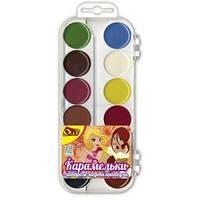 Краски акварельные Olli OL-313-12 12 цветов в пластиковом пенале (315171)