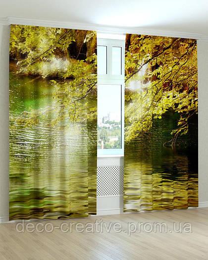 Фотошторы пейзажи пруд