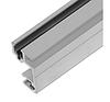 """Профиль 6102 двойной алюминиевый крепления 19"""" оборудования под гайку 6110/1"""