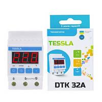 Терморегулятор TESSLA DTK на DIN-рейку для котлов