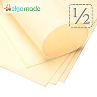 Фоамиран АНТИЧНЫЙ БЕЛЫЙ (желтоватый), 1/2 листа, 30x70 см, 0.8-1.2 мм, Иран, фото 1