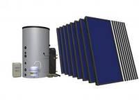 Комплект на 8 коллекторов + отопление HEWALEX 8TLP AC INTEGRA800 (3-12 чел. 800 л)