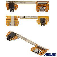Шлейф для Asus Nexus 7 Google, коннектора наушников, коннектора зарядки, с компонентами, оригинал