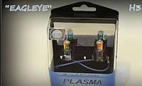 Автолампа H3 12V 100W PK22s Plazma Blue для противотуманных фар (2шт).