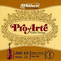 Струна для скрипки D`ADDARIO J5601 4/4M Pro Arte E 4/4M