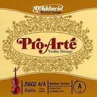 Струна для скрипки D`ADDARIO J5602 4/4M Pro Arte A 4/4M