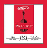 Струны для скрипки D`ADDARIO J810 4/4H Prelude 4/4H