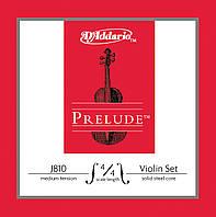 Струны для скрипки D`ADDARIO J810 4/4M Prelude 4/4M
