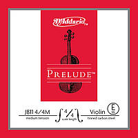 Струна для скрипки D`ADDARIO J811 4/4M Prelude E 4/4M