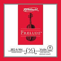 Струна для скрипки D`ADDARIO J812 4/4M Prelude A 4/4M