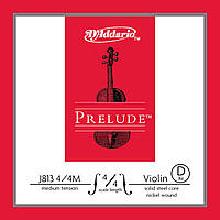 Струна для скрипки D`ADDARIO J813 4/4M Prelude D 4/4M