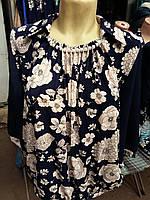Блуза женская с бусинками на груди