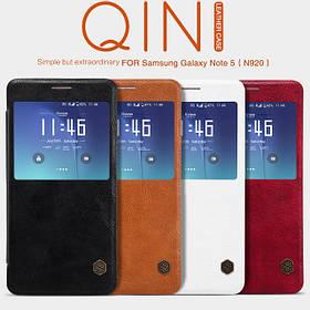 Nillkin QIN чехол книжка Samsung Galaxy Note 5