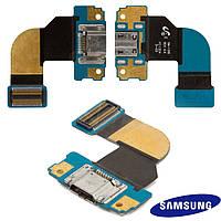Шлейф для Samsung Galaxy Tab 3 8.0 T310, коннектора зарядки, с компонентами (оригинальный)