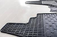 Резиновые коврики Пежо Эксперт 1 (коврики салона Peugeot Expert 1 комплект 2 шт, в салон)