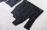 Резиновые коврики Пежо Эксперт 1 (коврики салона Peugeot Expert 1 комплект 2 шт, в салон), фото 5