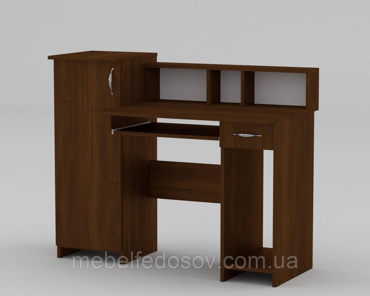Стол компьютерный ПИ-ПИ-2 (Компанит) 1175х600х736+220мм