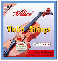 Струны для скрипки Alice A703