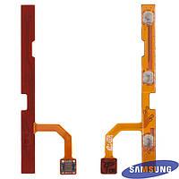 Шлейф для Samsung Galaxy Tab P1000/P1010, боковой кнопки, с компонентами (оригинальный)