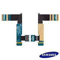 Шлейф для Samsung Galaxy Tab P1000 / P1010, с компонентами, оригинал