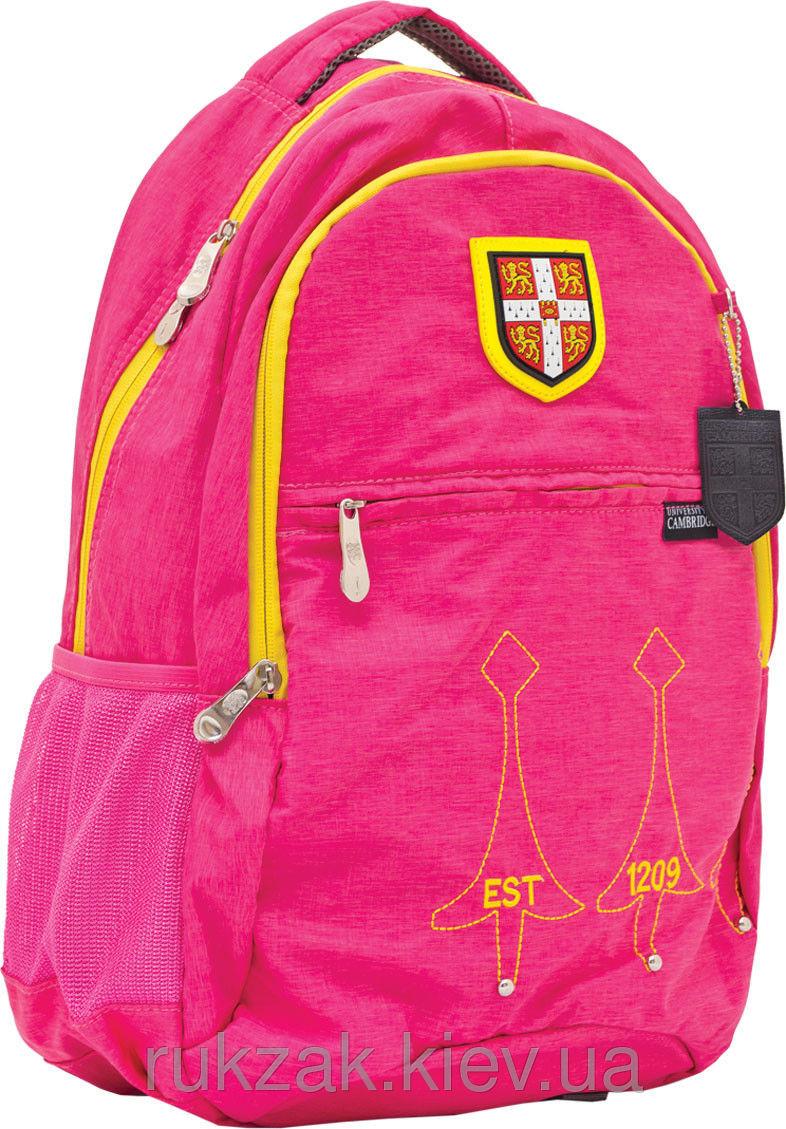 Рюкзак подростковый Cambridge (Кембридж) розовый CA060
