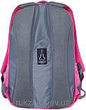 Рюкзак подростковый Cambridge (Кембридж) розовый CA060, фото 3